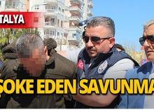 Antalya'da eşini öldüren zanlıdan ilginç savunma!