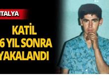 Antalya'da iki kişiyi öldürmüştü, yıllar sonra yakalandı!