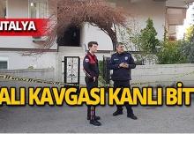 Antalya'da ıslanan halı kavgasında kan aktı!