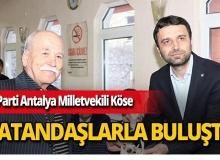 """Antalya Milletvekili Köse: """"Adaylarımızın sözü bizim sözümüzdür"""""""