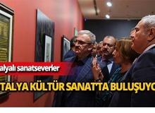 Antalyalı sanatseverler bu sergiye akın etti!