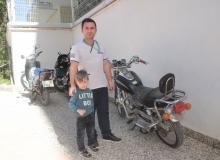 Antalya'da çalındı, bir evin önünde bulundu