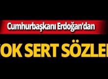 """Cumhurbaşkanı Erdoğan: """"Kaçacak yeri yok, hesaplaşacağız"""""""