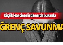 Küçük kıza cinsel istismarda bulundu, ifadesi kan dondurdu!