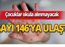 Vaka sayısı 146'ya ulaştı, o çocuklar okula alınmayacak!