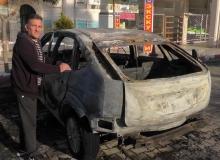 Antalya'da yardım ettiği şahıs arabasını kundakladı!