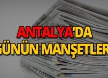 17 Nisan 2019 Antalya'nın yerel gazete manşetleri