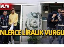 Antalya'da askeri personeli dolandırdılar!