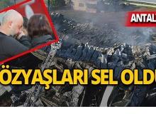 Antalya'da cayır cayır yandı, sahibi gözyaşlarına boğuldu!