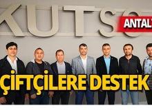 Antalya'da çiftçinin kalkınmasına katkı sağlanacak!