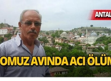 Antalya'da domuz avlamak isterken arkadaşını öldürdü!