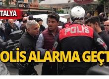 Antalya'da polis kovaladı o kaçtı!