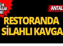 Antalya'da silahlı kavgada kan aktı: Ölü ve yaralılar var!