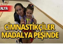 Antalyaspor cimnastik takımı madalya peşinde!