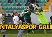 Antalyaspor deplasmandan galibiyetle ayrıldı