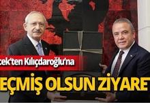 Başkan Böcek'ten CHP lideri Kılıçdaroğlu'na geçmiş olsun ziyareti
