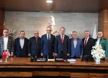 AESOB'dan Başkan Esen'e ziyaret