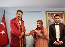 Başkan Ulutaş, ilk nikahını kıydı