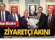 CHP Antalya İl Başkanı ve Milletvekillerinden Böcek'e ziyaret