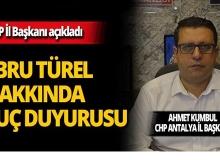 CHP'den Ebru Türel hakkında suç duyurusu!