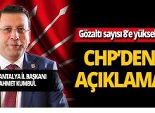 CHP'den ses kaydı gözaltıları hakkında açıklama!