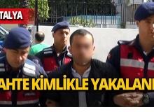 Cinayetten aranıyordu, Antalya'da yakalandı!