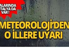 Meteoroloji Antalya'yı yine uyardı!