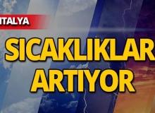 14 Mayıs 2019 Antalya hava durumu