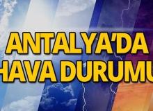 16 Mayıs 2019 Antalya hava durumu