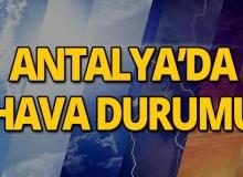 24 Mayıs 2019 Antalya hava durumu