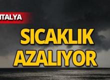 25 Mayıs 2019 Antalya hava durumu