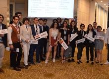 28 okulun öğrencileri Antalya'da buluştu