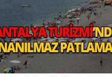 Antalya'da Nisan'da patladı, kimse inanamadı!
