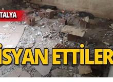 """Antalya'da o ilçede vatandaşlar tepkili: """"Bıktık"""""""