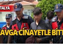 Antalya'da yol verme kavgasında kan aktı!