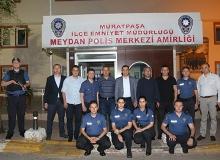 Antalya İl Emniyet Müdürü, personelle sahur yaptı