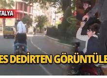 Antalya'nın en işlek caddesinde şoke eden görüntüler!