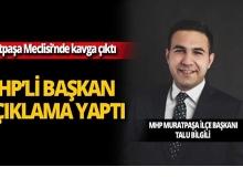 Muratpaşa Meclisi'nde kavga çıktı, MHP'li başkandan açıklama geldi!