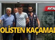 Antalya'da 2 kişiyi yaraladı, kıskıvrak yakalandı!
