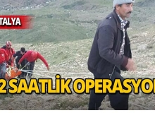 Antalya'da nefes kesen kurtarma operasyonu!