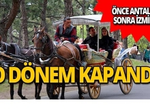 Antalya'dan sonra şimdi de İzmir'de! O dönem kapandı