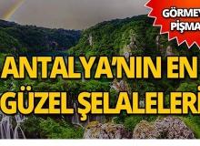 Antalya'nın en güzel 5 şelalesi