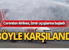 Corendon, İzmir-Almanya uçuşlarına başladı!
