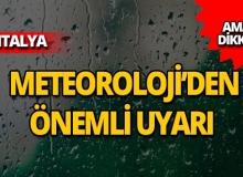 Dikkat! Meteoroloji'den flaş uyarı