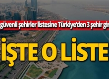 Dünyanın en güvenli 50 şehri! İçlerinde Türkiye de var