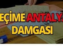 İstanbul seçimlerine Antalya damgası