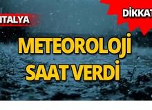 Meteoroloji'den kritik uyarı: Kuvvetli olacak!