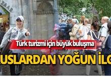 Türkiye turizmi için büyük buluşma!