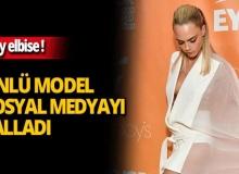 Ünlü model Cara Delevingne'in kıyafeti olay oldu!