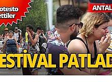 Antalya'da Dreamland Summer Fest fiyaskosu
